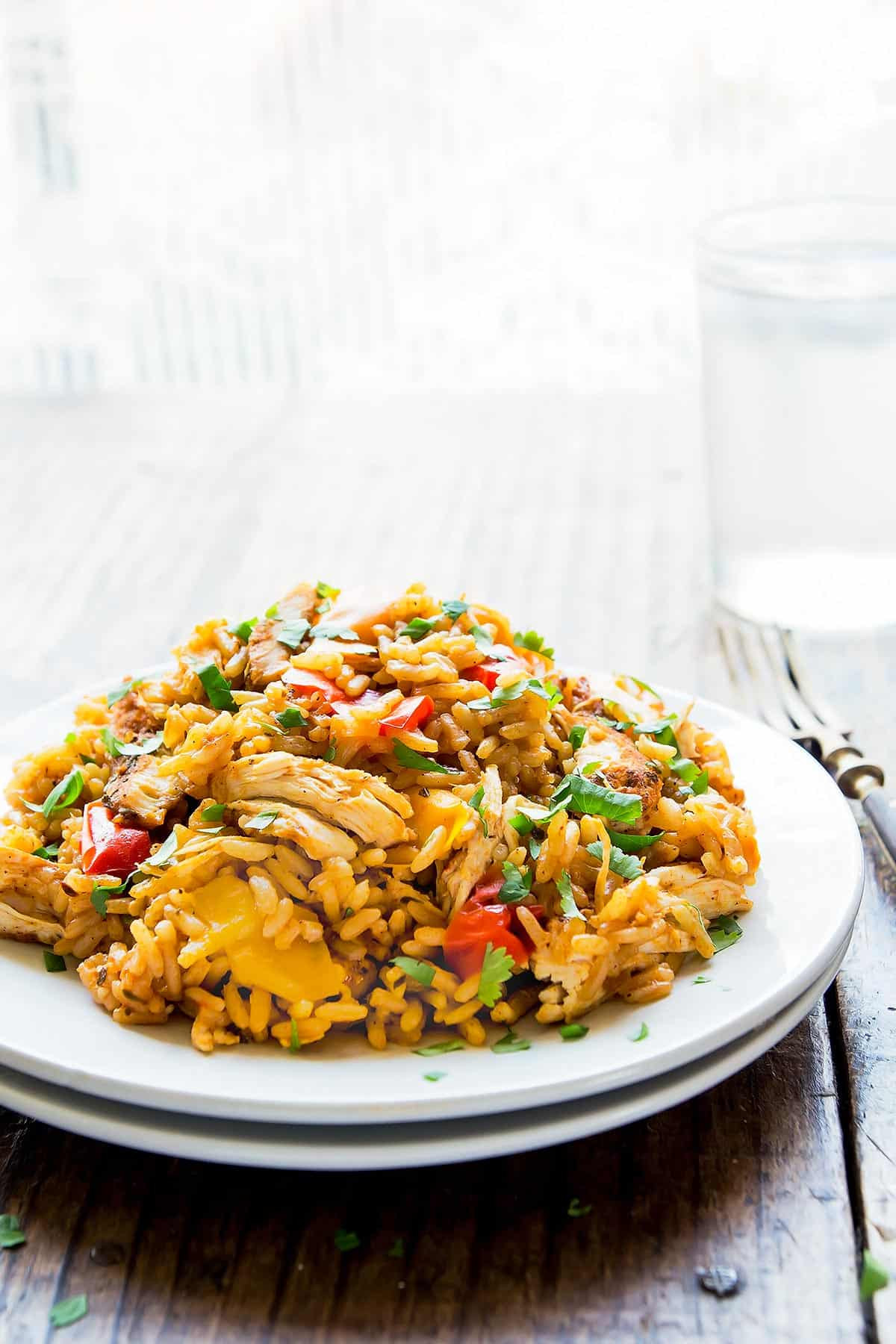 Instant Pot Chicken Fried Rice  Instant Pot Chicken and Rice Leelalicious