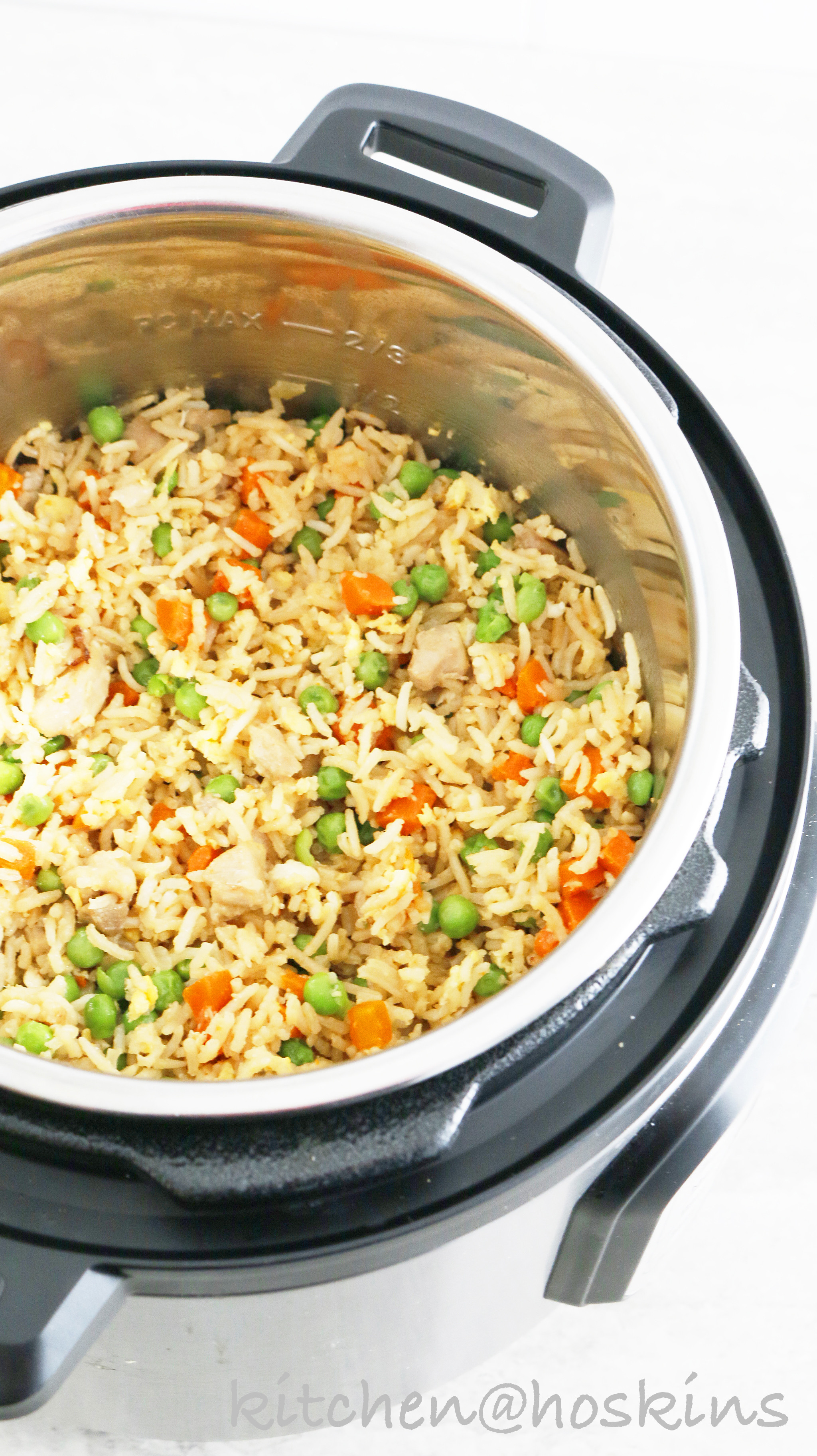 Instant Pot Chicken Fried Rice  Instant Pot Chicken Fried Rice Kitchen Hoskins