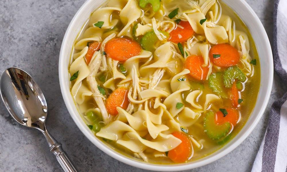 Instant Pot Chicken Noodle Soup  Instant Pot Chicken Soup with Noodles Recipe