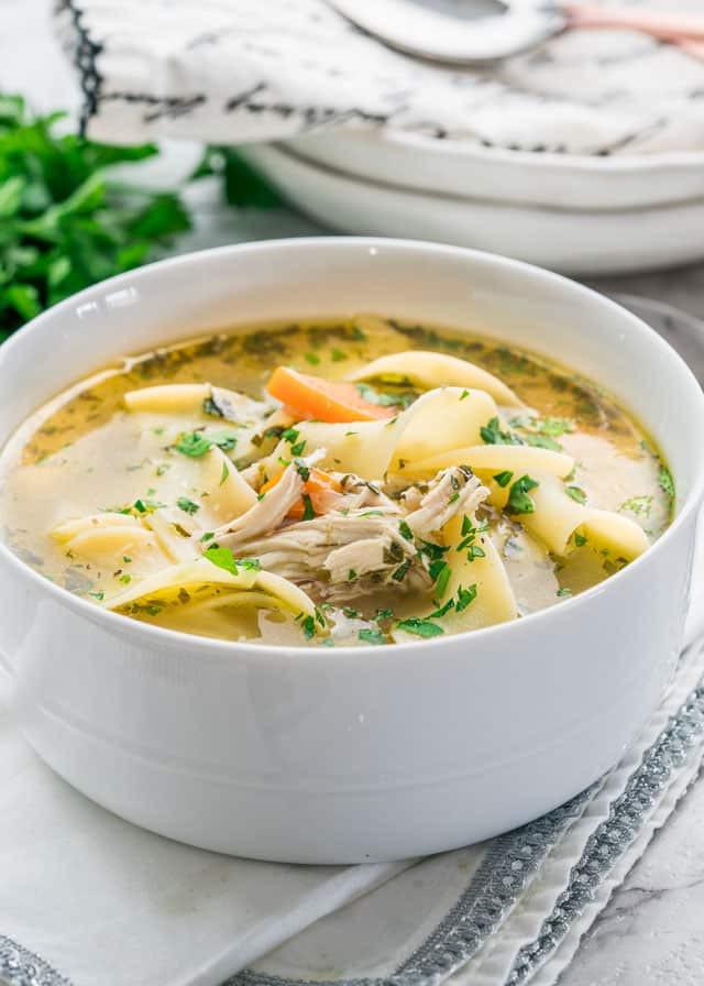 Instant Pot Chicken Noodle Soup  Instant Pot Chicken Noodle Soup Jo Cooks
