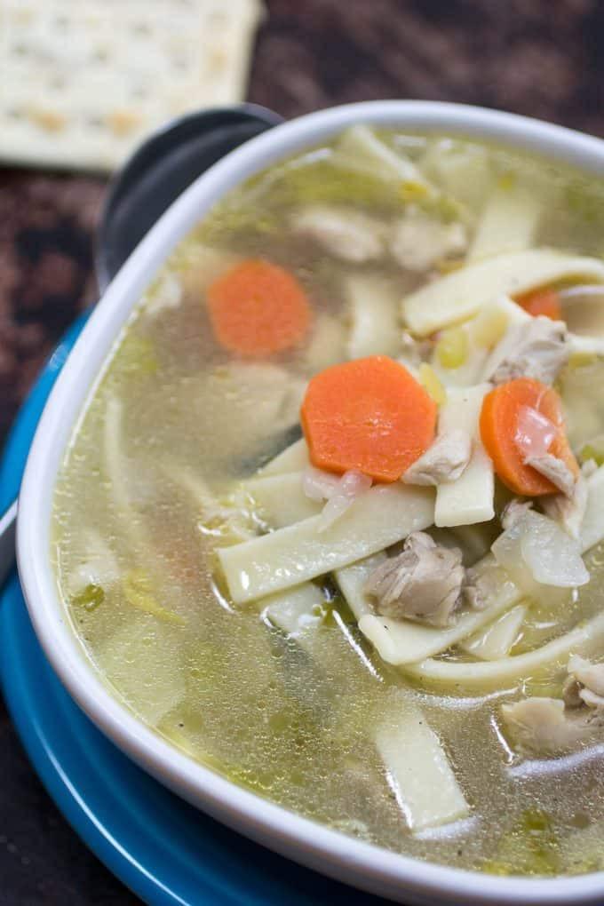 Instant Pot Chicken Noodle Soup  Instant Pot Chicken Soup