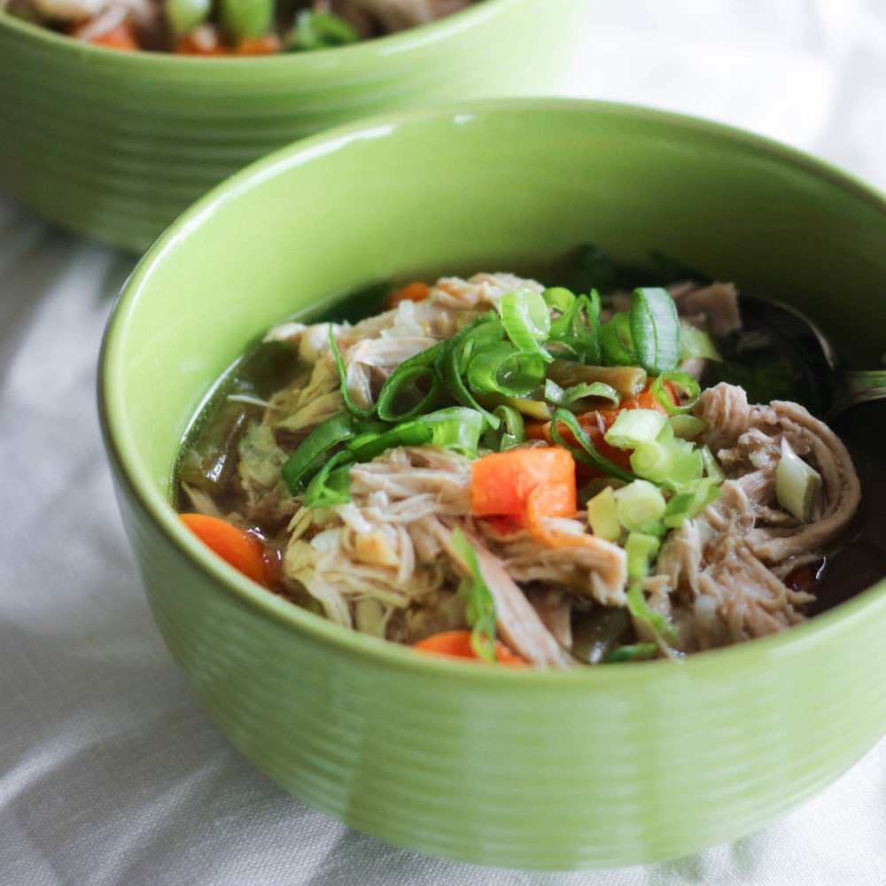 Instant Pot Chicken Soup Whole Chicken  Instant Pot Chicken Soup what great grandma ate
