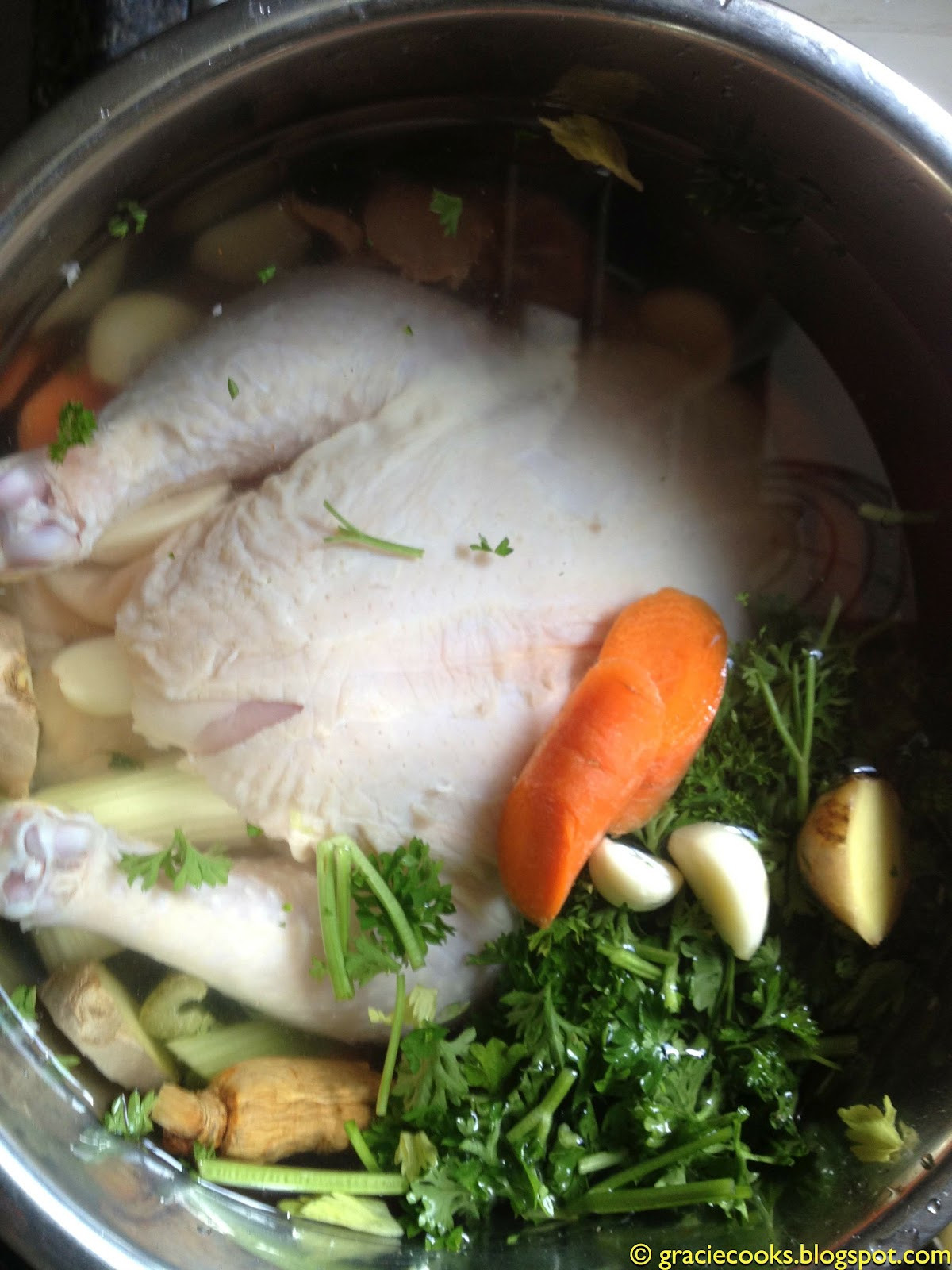 Instant Pot Chicken Soup Whole Chicken  Gracie Cooks Hearty 30 minute Chicken Soup The Instant