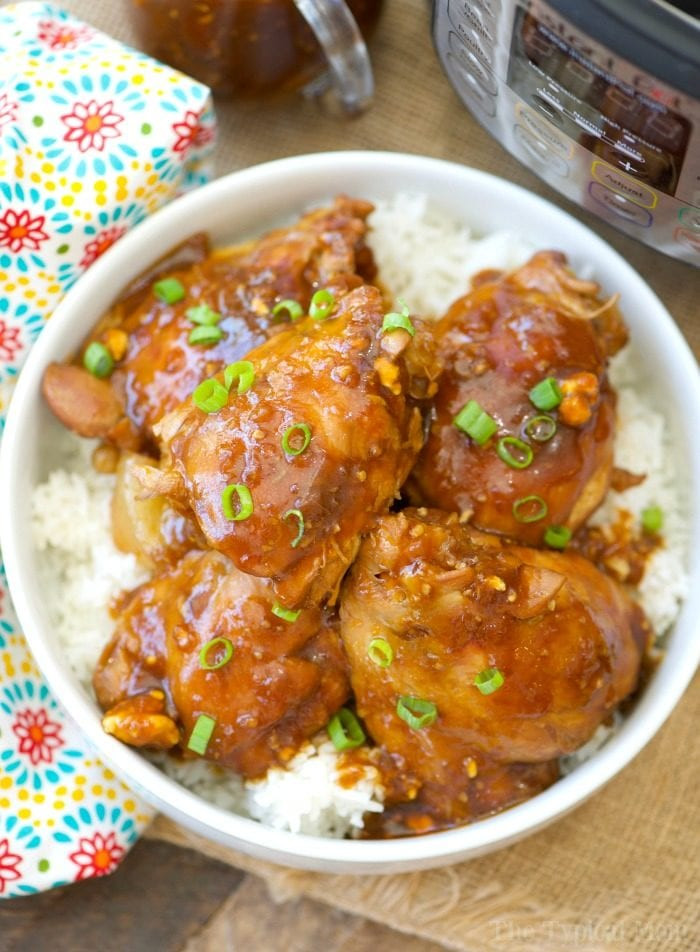 Instant Pot Chicken Thigh Recipes  Instant Pot Spicy Teriyaki Chicken Thighs · The Typical Mom