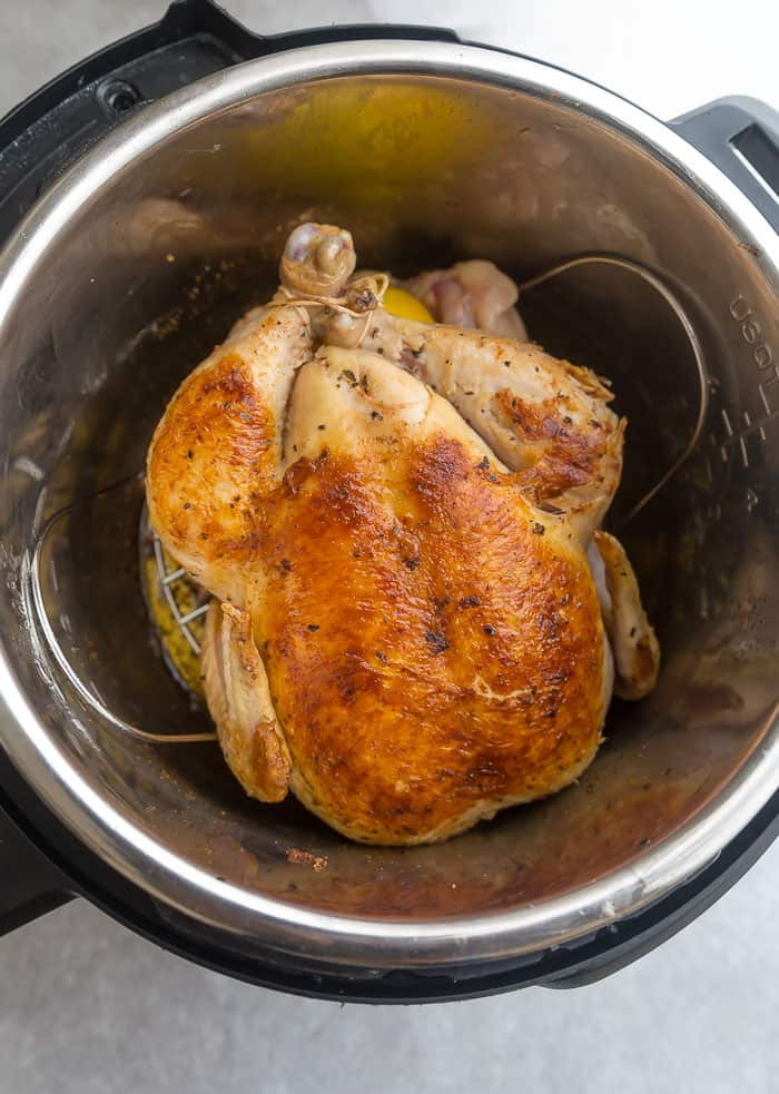 Instant Pot Chicken Whole  Instant Pot Whole Chicken Rotisserie Style Life Made