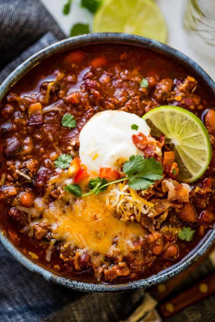 Instant Pot Chili Recipes  Award Winning Instant Pot Chili Recipe Oh Sweet Basil
