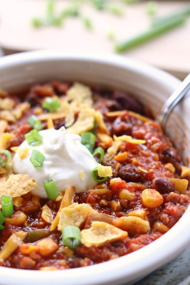 Instant Pot Chili Recipes  Instant Pot Turkey Chili 365 Days of Slow Cooking and