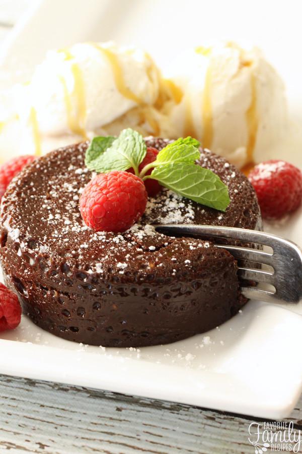 Instant Pot Chocolate Lava Cake  Instant Pot Chocolate Lava Cake