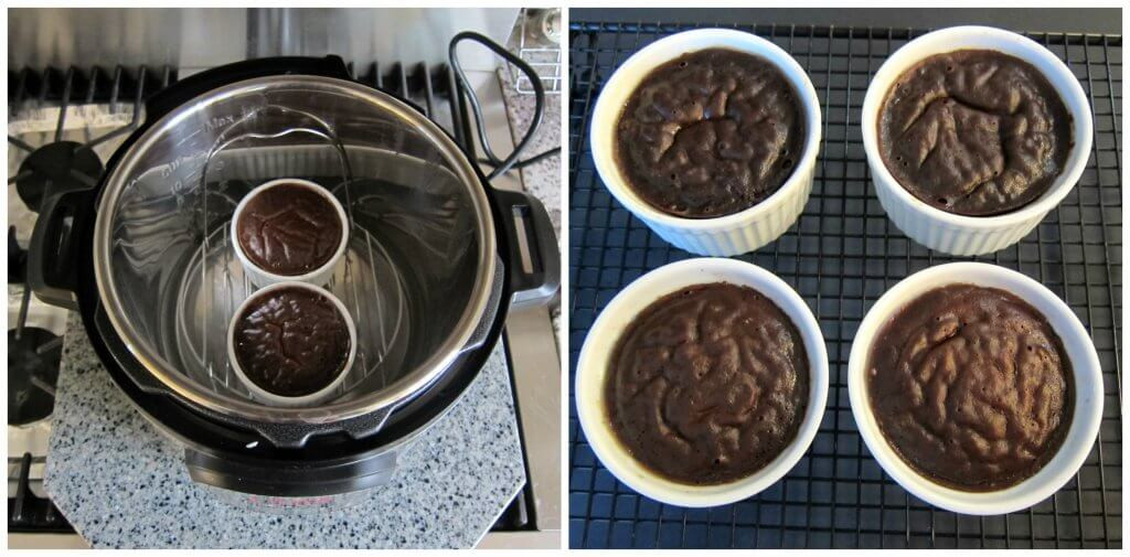Instant Pot Chocolate Lava Cake  Easy Instant Pot Chocolate Lava Cake Paint The Kitchen Red