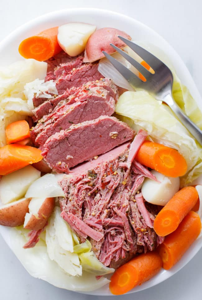 Instant Pot Corned Beef And Cabbage  Instant Pot Corned Beef and Cabbage Pressure Cooker