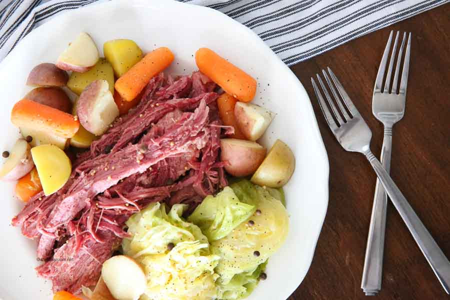 Instant Pot Corned Beef And Cabbage  Instant Pot Corned Beef and Cabbage Recipe
