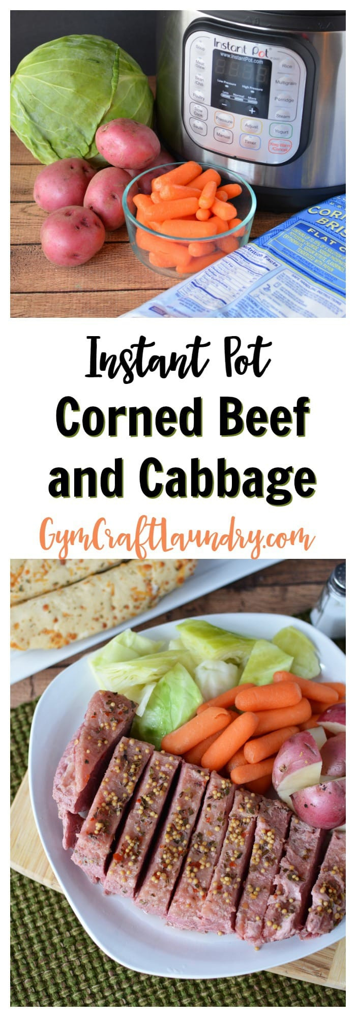 Instant Pot Corned Beef And Cabbage  Super Easy Saint Patrick s Day Recipe How to Make Corned