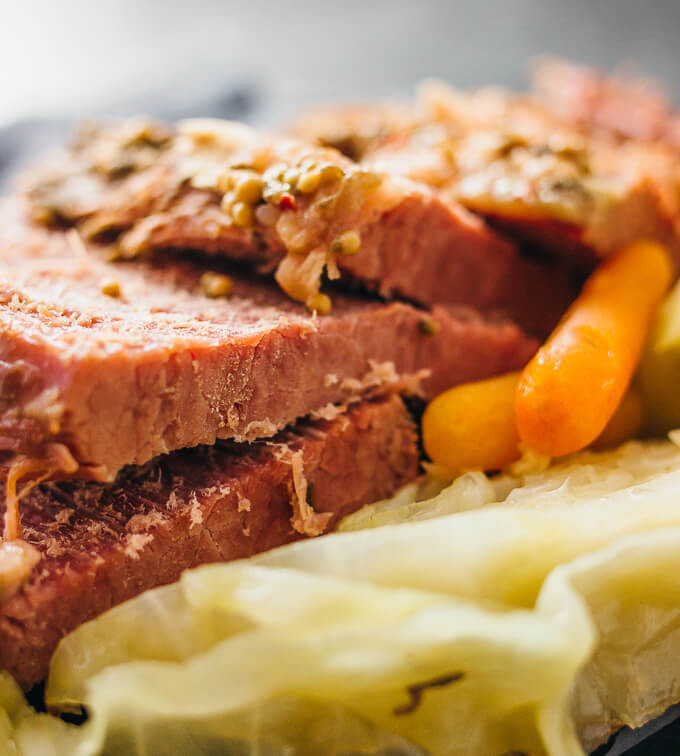 Instant Pot Corned Beef And Cabbage  Instant pot corned beef and cabbage savory tooth