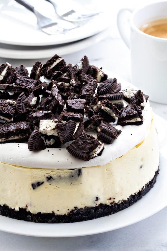 Instant Pot Dessert  Instant Pot Oreo Cheesecake My Baking Addiction