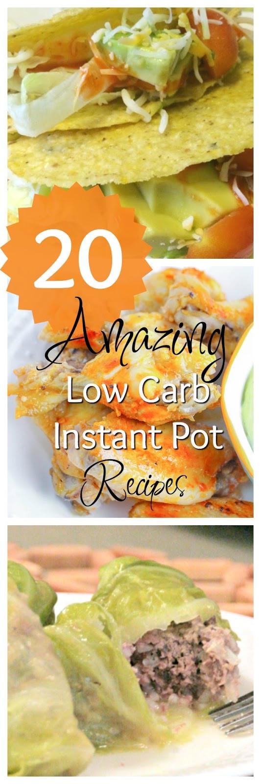Instant Pot Diabetic Recipes  20 of the Most AMAZING Low Carb Instant Pot Recipes We