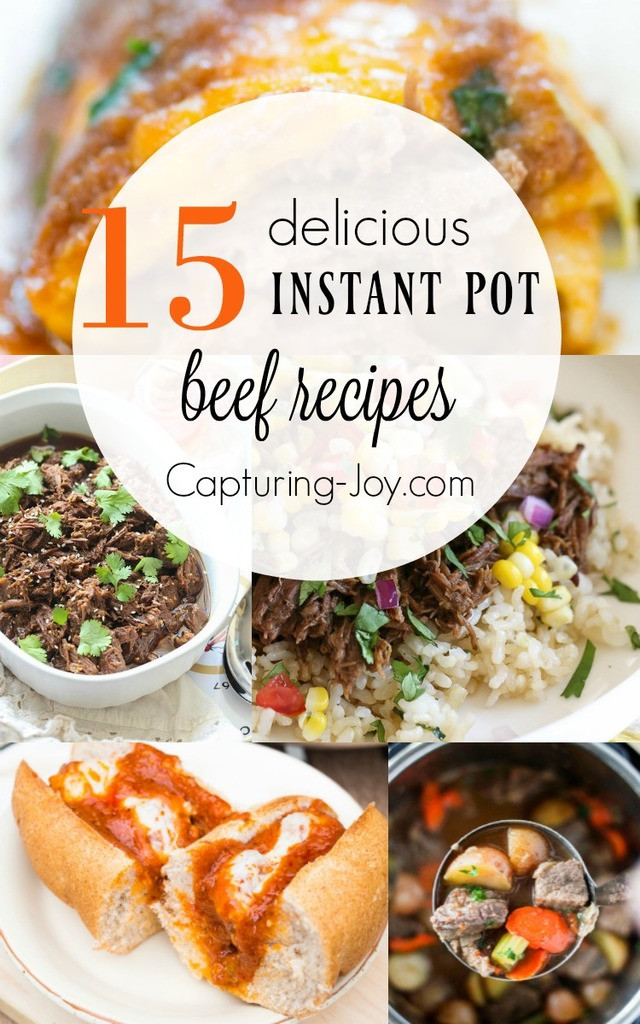 Instant Pot Diabetic Recipes  15 Delicious Beef Instant Pot Recipes Capturing Joy with