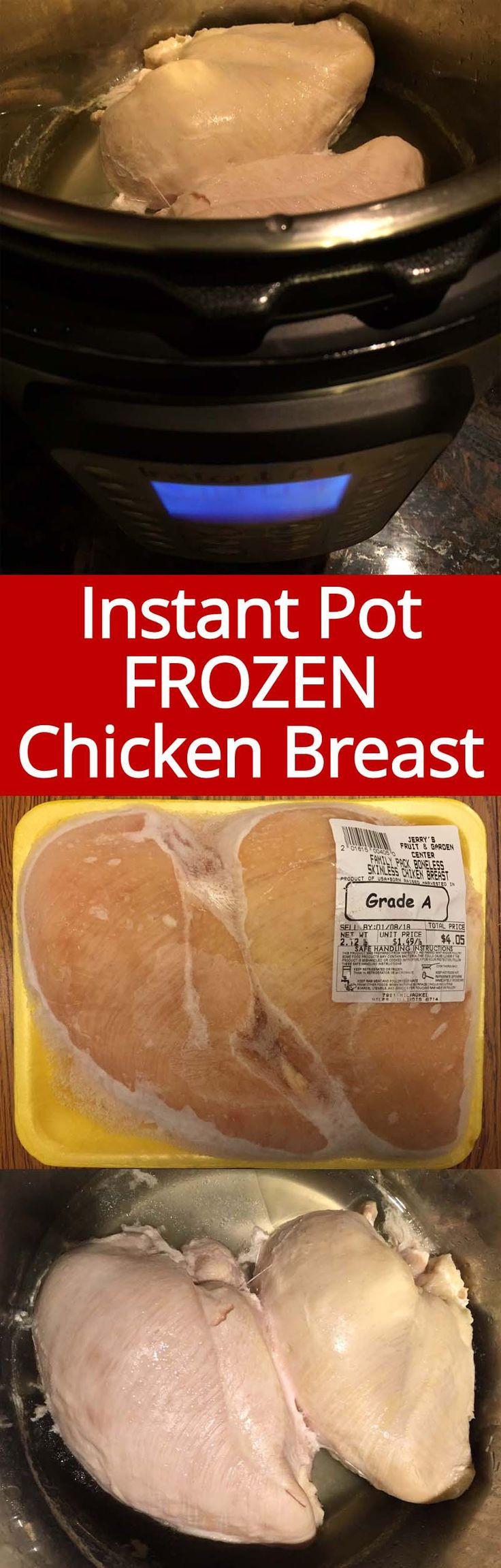 Instant Pot Frozen Chicken Breasts  Best 25 Chicken breasts ideas on Pinterest
