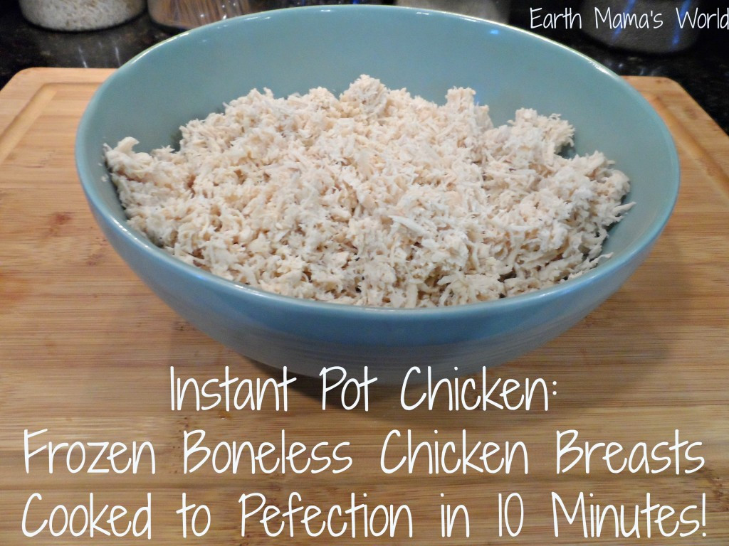 Instant Pot Frozen Chicken Breasts  Frozen Chicken Breasts Cooked to Perfection in 10 MINUTES