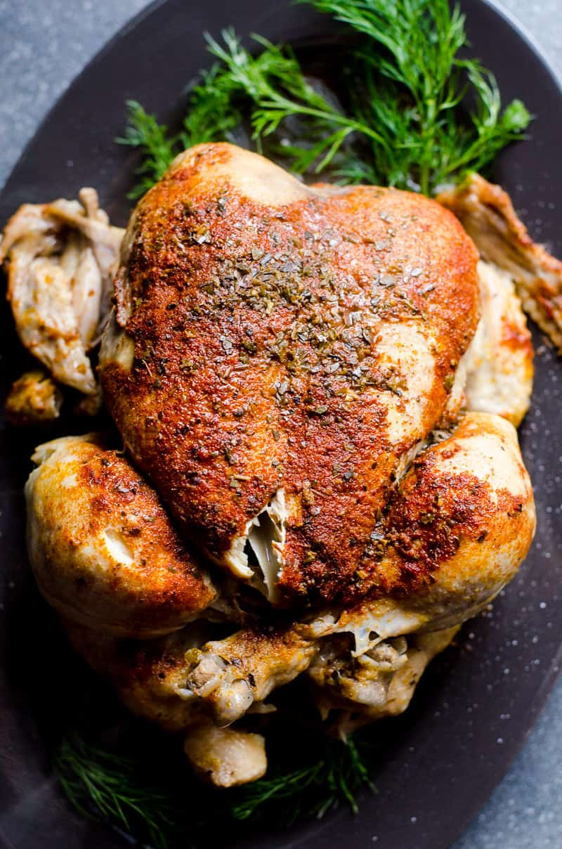 Instant Pot Frozen Chicken Recipes  Instant Pot Frozen Chicken iFOODreal Healthy Family