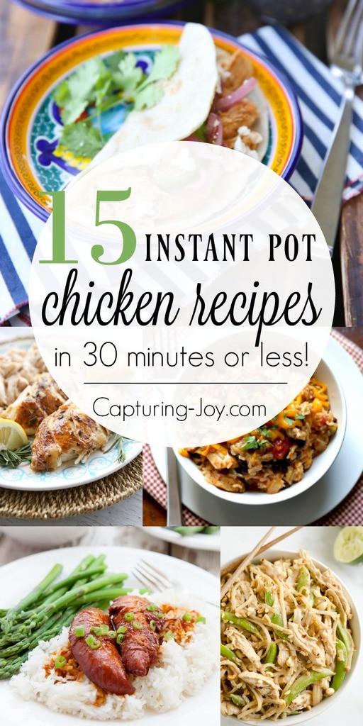 Instant Pot Frozen Chicken Recipes  Instant Pot Chicken Recipes Capturing Joy with Kristen Duke