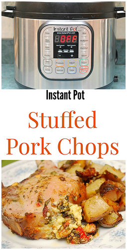 Instant Pot Frozen Pork Chops  Instant Pot Stuffed Pork Chops What s Cookin Chicago