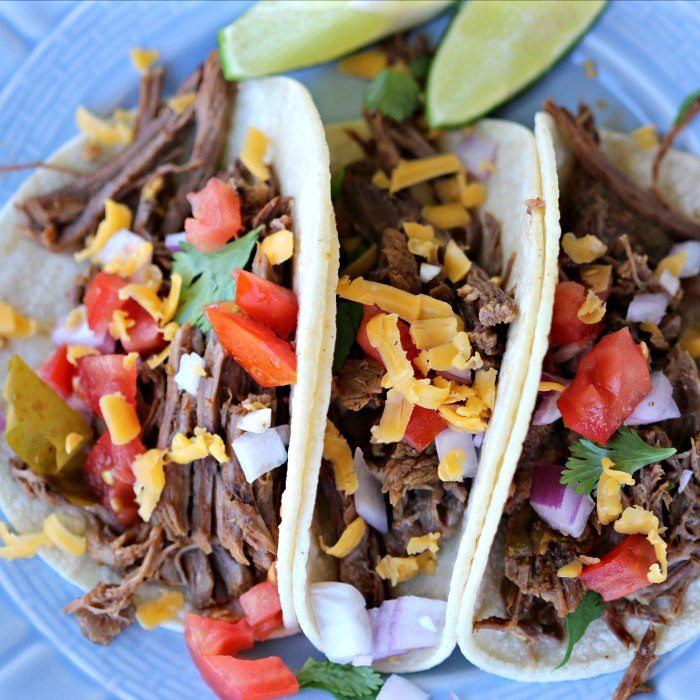 Instant Pot Ground Beef Tacos  Gluten Free Instant Pot Mexican Shredded Beef Tacos Recipe