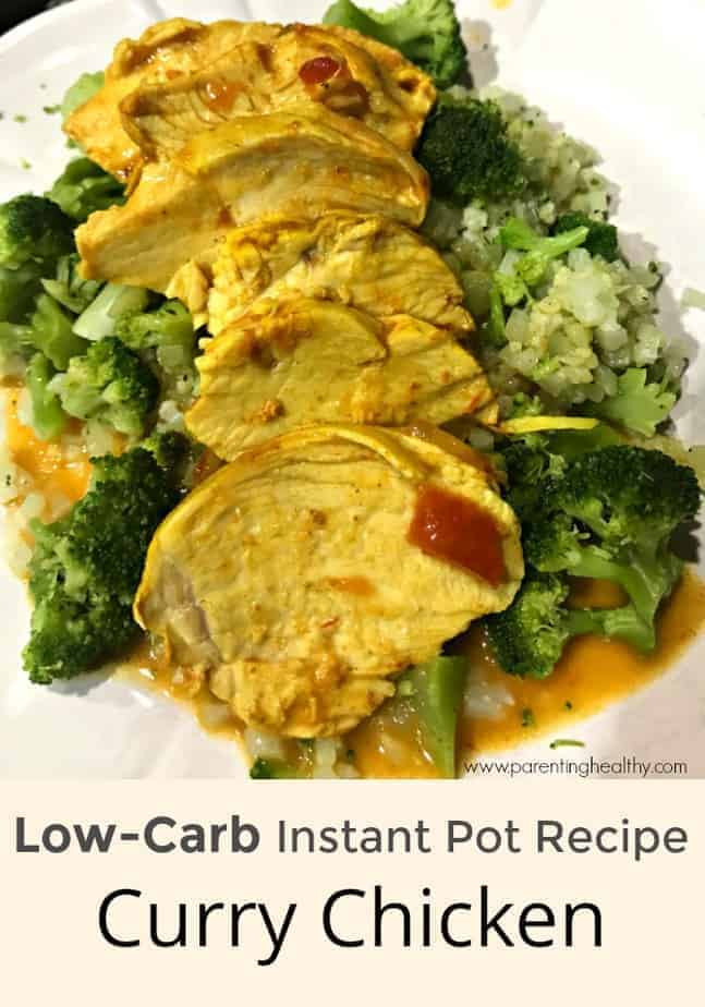 Instant Pot Low Carb Recipes  Low Carb Instant Pot Recipe Curry Chicken