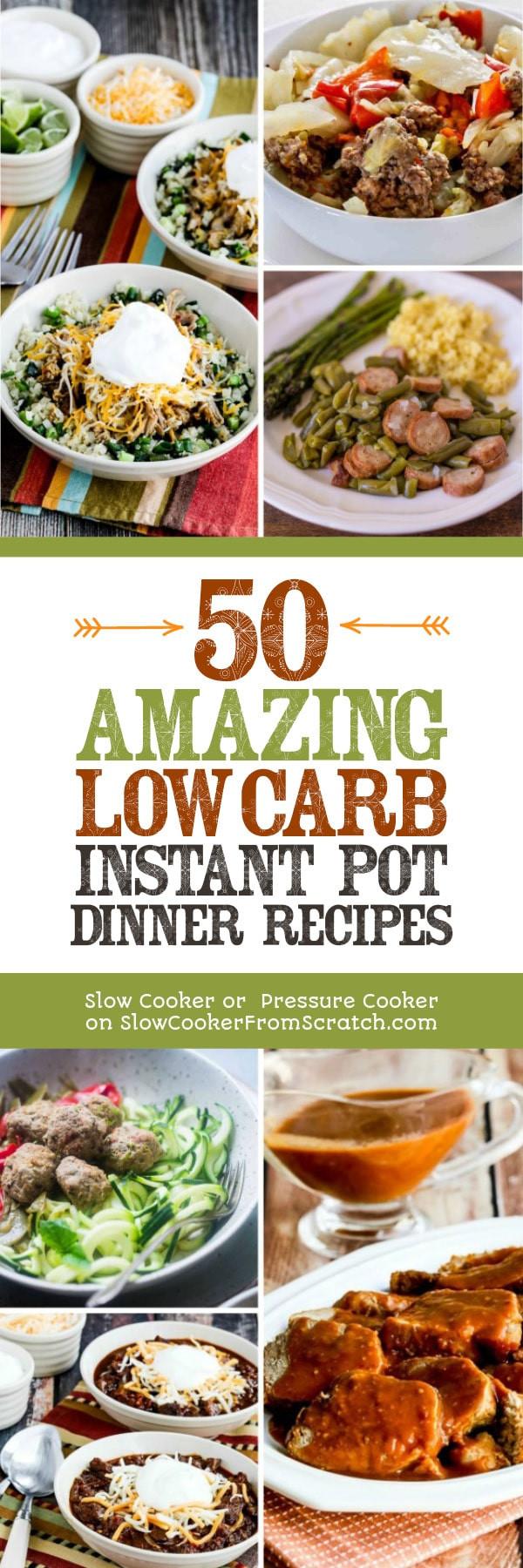 Instant Pot Low Carb Recipes  50 AMAZING Low Carb Instant Pot Dinner Recipes Slow