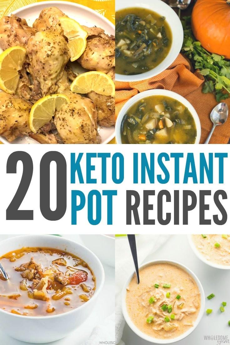 Instant Pot Low Carb Recipes  Keto Instant Pot Recipes High Fat & Low Carb Recipes