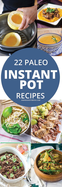 Instant Pot Paleo Recipes  Instant pot Paleo recipes and Paleo on Pinterest
