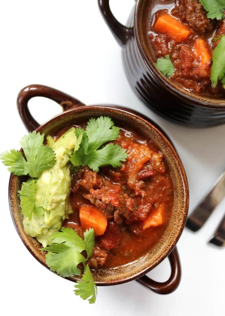 Instant Pot Paleo Recipes  Instant Pot Chili Texas Style Paleo