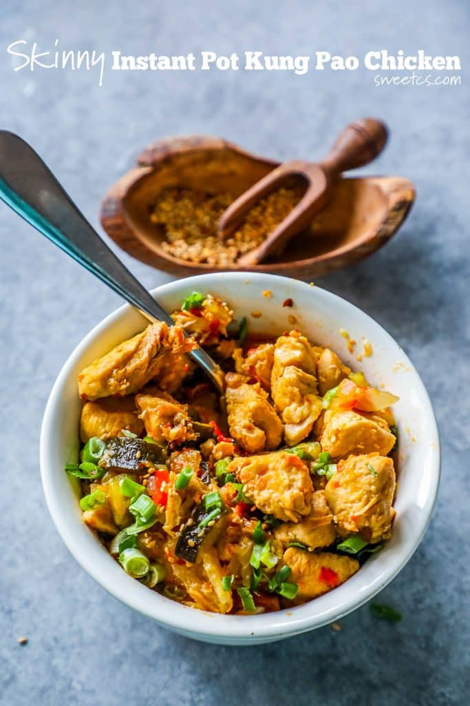 Instant Pot Paleo Recipes  Instant Pot Paleo Kung Pao Chicken Sweet Cs Designs