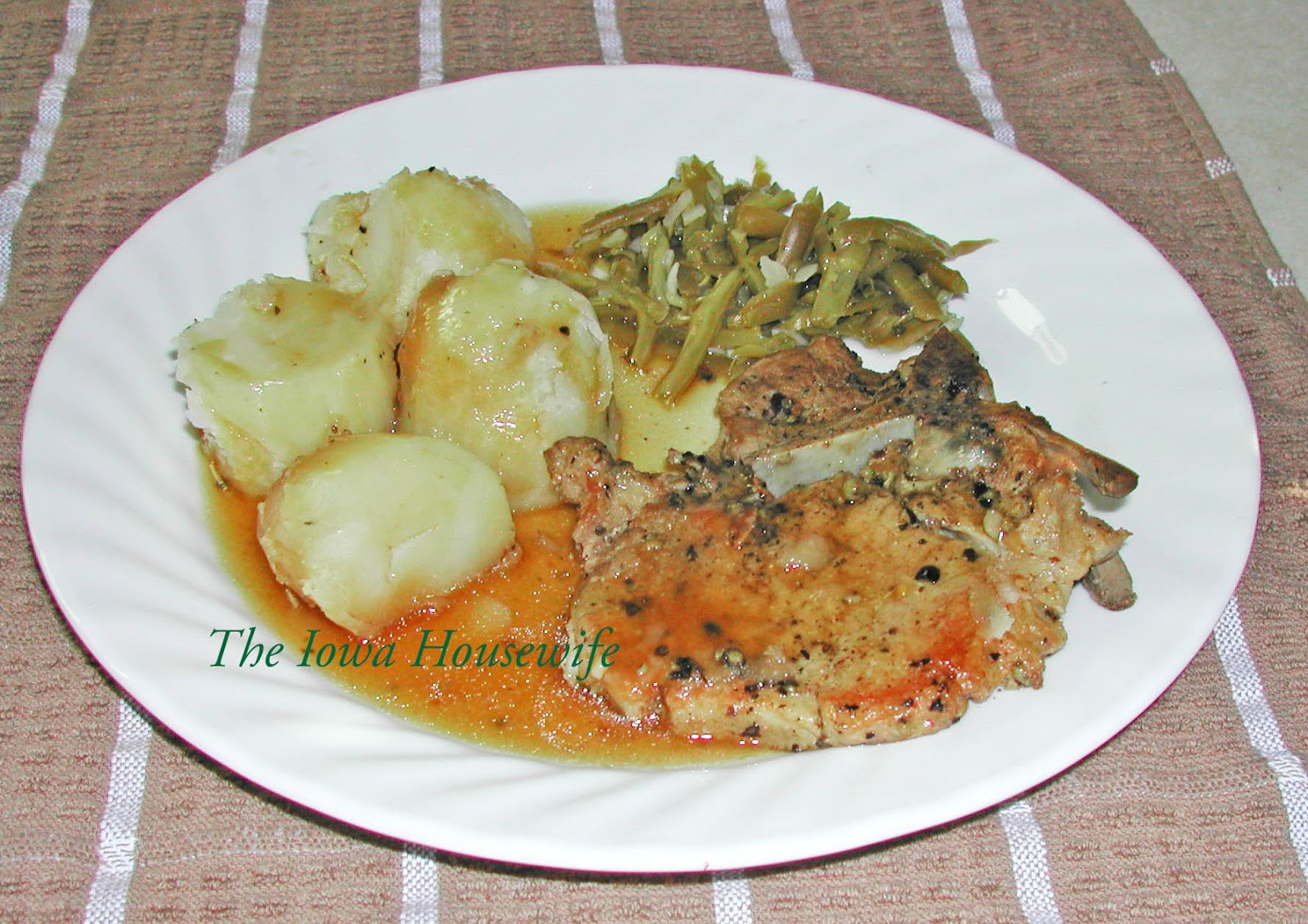 Instant Pot Pork Chops And Potatoes  The Iowa Housewife Instant Pot Pork Chops and potatoes