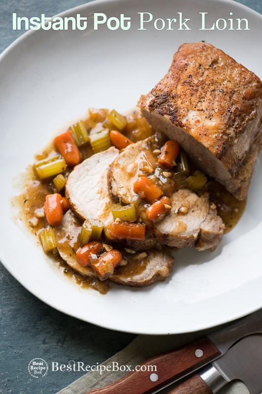 Instant Pot Pork Shoulder Roast  Instant Pot Pork Roast with Ve ables and Gravy in