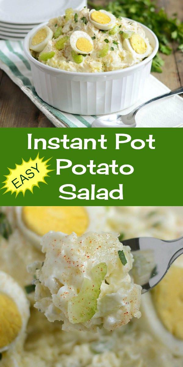 Instant Pot Potato Recipes  Instant Pot Potato Salad Meatloaf and Melodrama