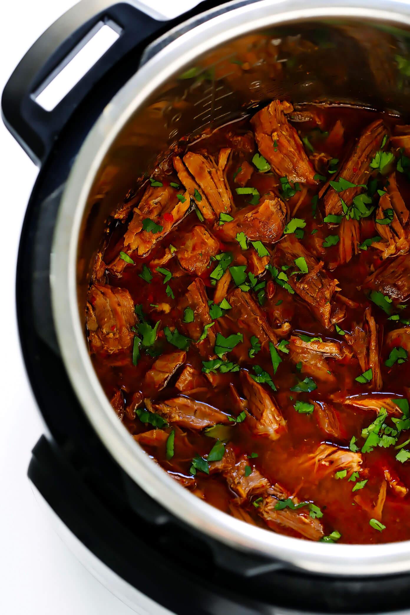 Instant Pot Recipes Beef  Instant Pot Barbacoa Beef