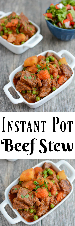 Instant Pot Recipes Beef  Instant Pot Beef Stew