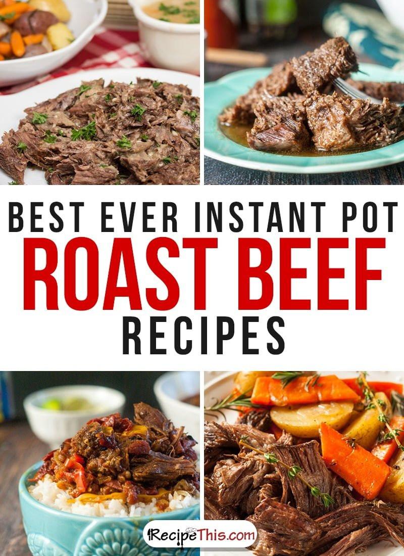 Instant Pot Recipes Beef  101 Instant Pot Beef Recipes • Recipe This