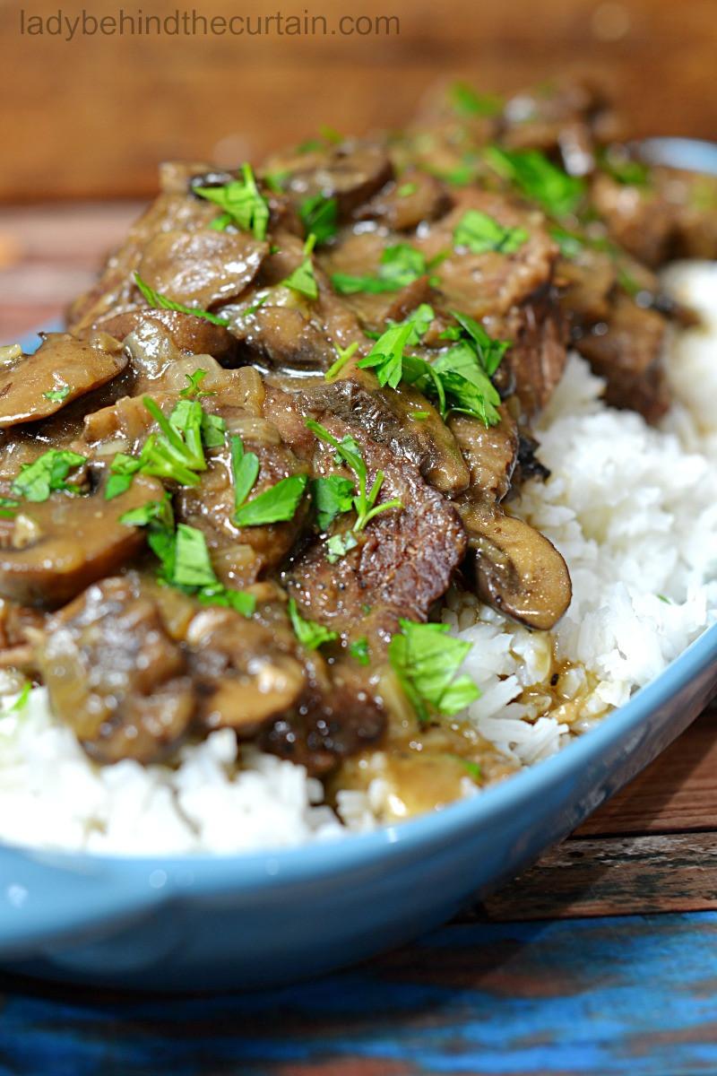 Instant Pot Recipes Beef  Instant Pot Mushroom Beef Recipe
