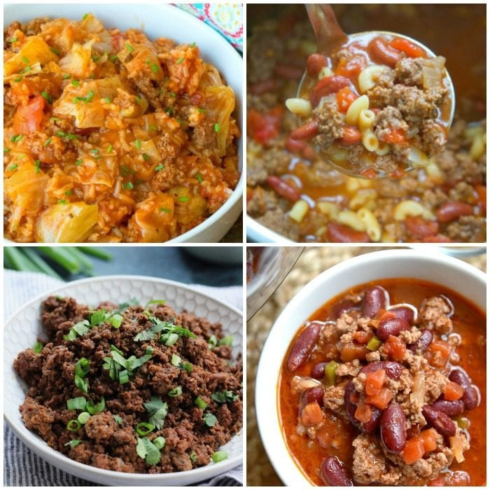 Instant Pot Recipes Ground Beef  Instant Pot Ground Beef Recipes · The Typical Mom