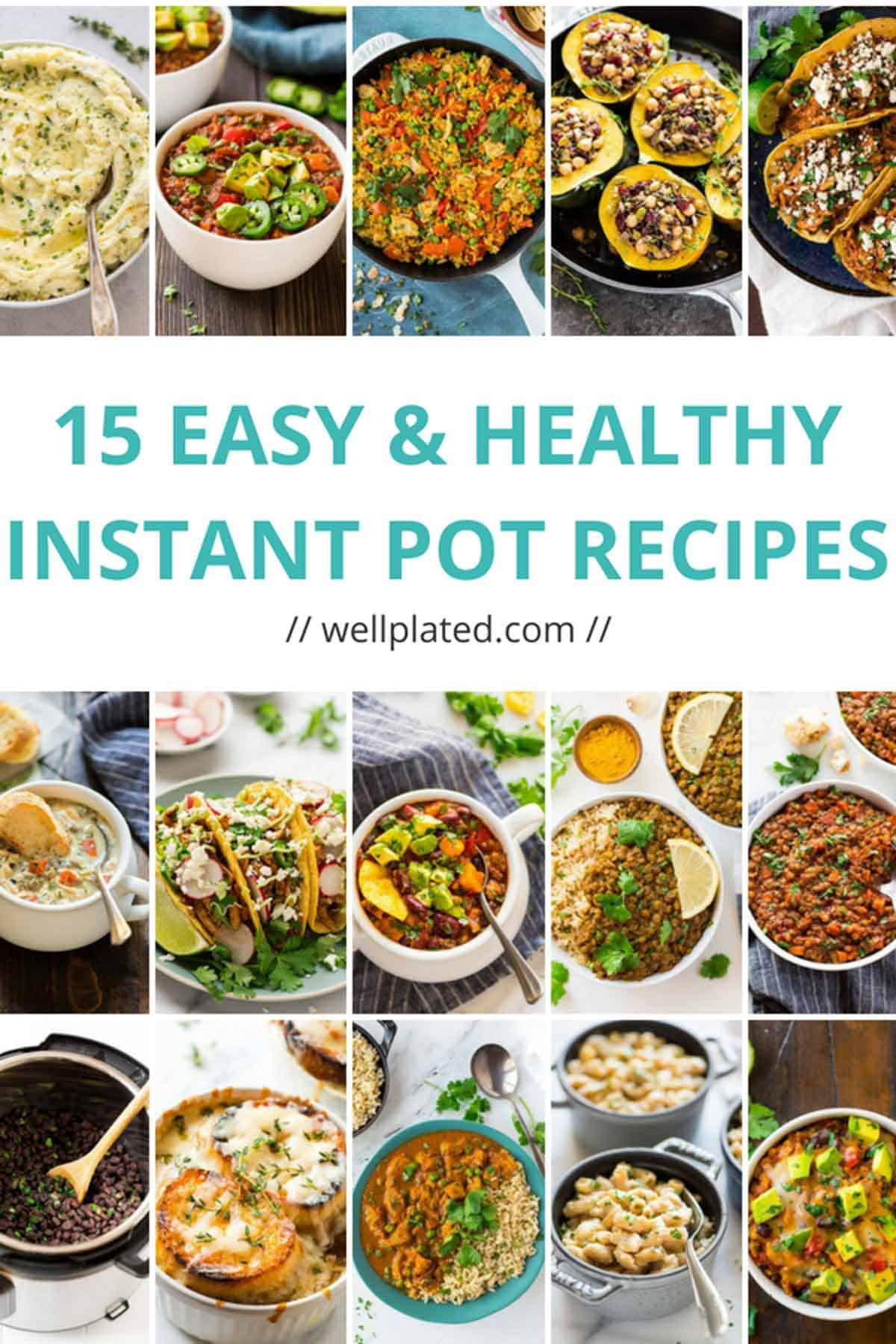Instant Pot Recipes Healthy  15 Healthy Instant Pot Recipes That Anyone Can Make