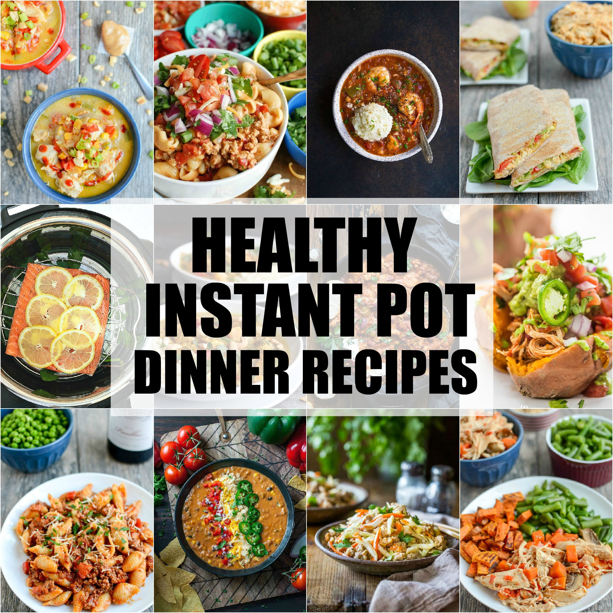 Instant Pot Recipes Healthy  Healthy Instant Pot Dinner Recipes
