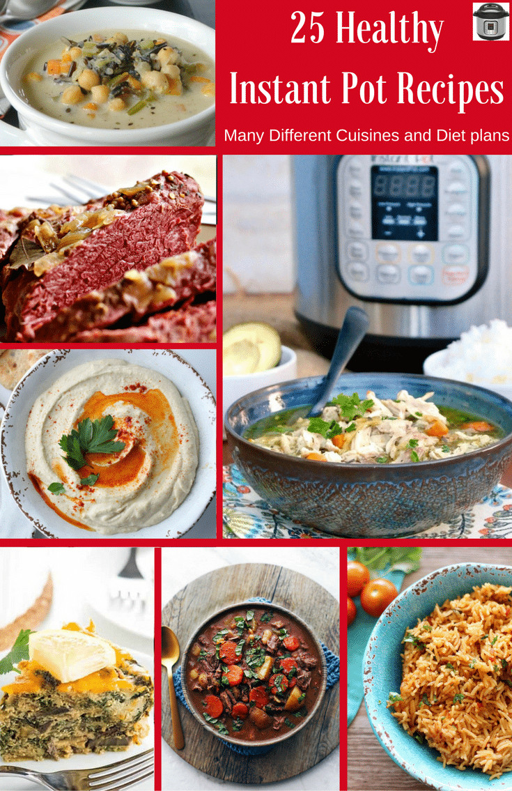 Instant Pot Recipes Healthy  25 Healthy Instant Pot Recipes