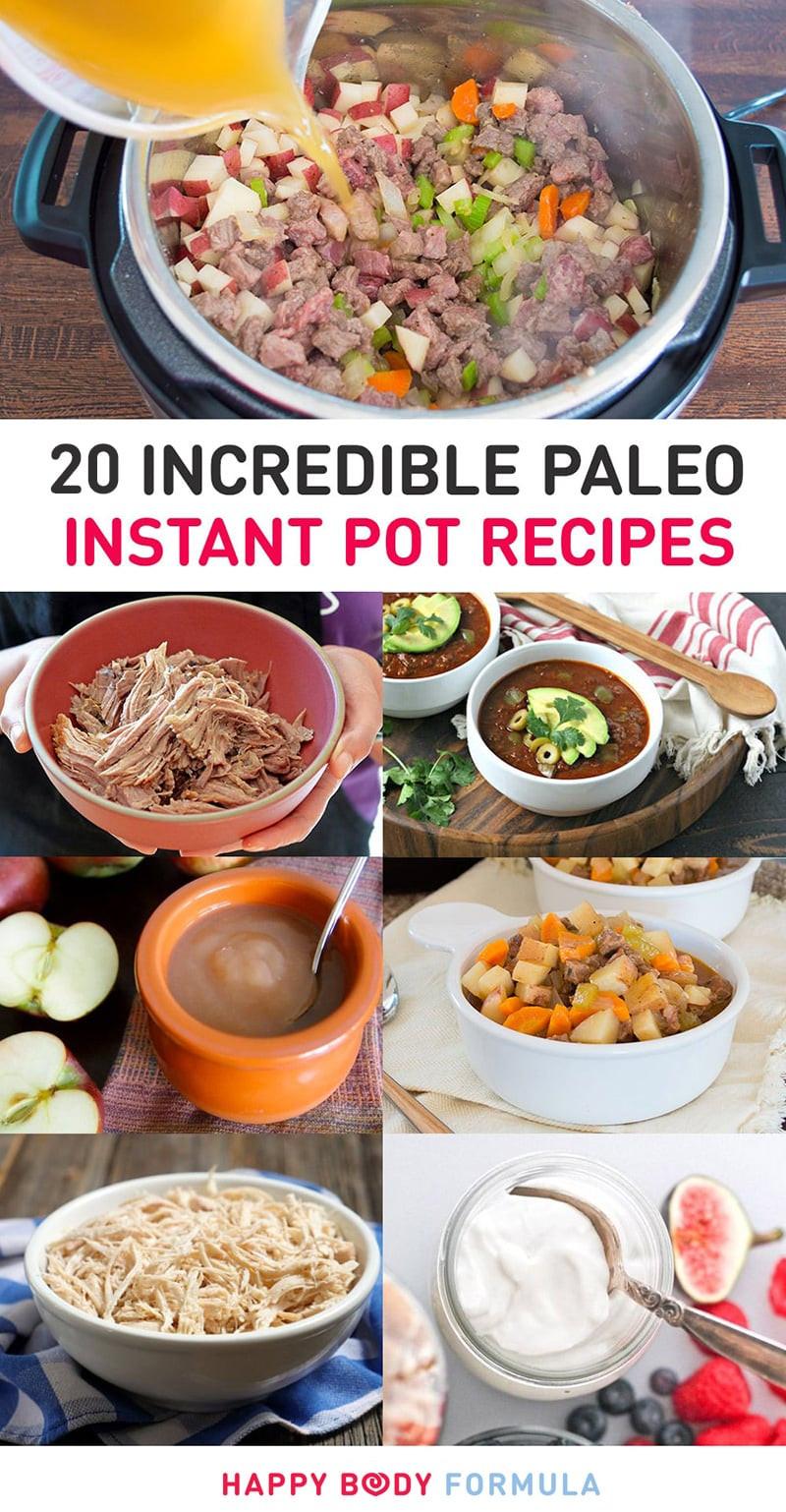 Instant Pot Recipes Paleo  20 Incredible Paleo Instant Pot Pressure Cooker Recipes