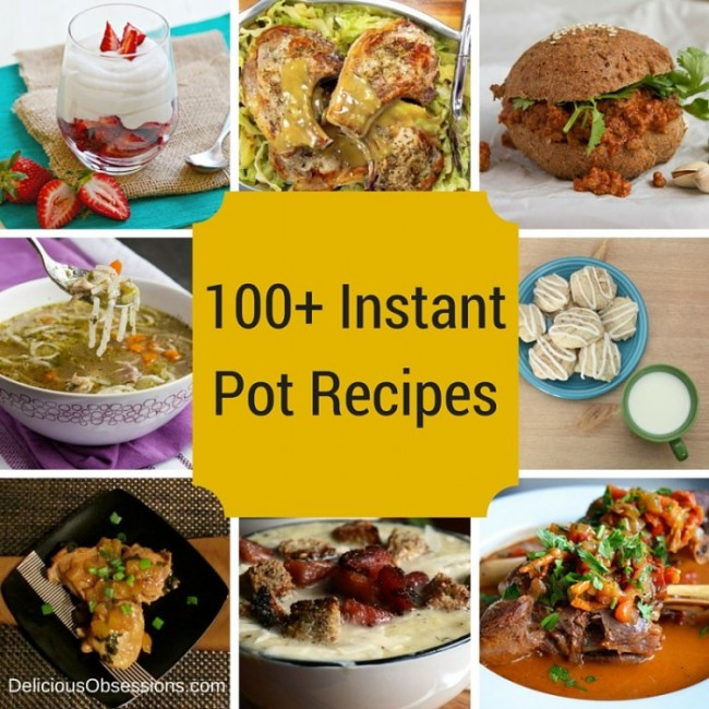 Instant Pot Recipes Paleo  100 Instant Pot Recipes A Collection of Healthy Paleo