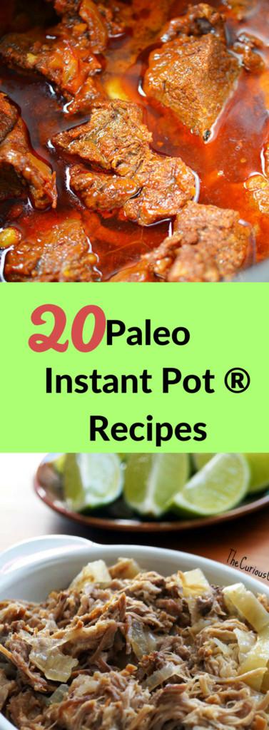Instant Pot Recipes Paleo  20 Paleo Instant Pot Recipes