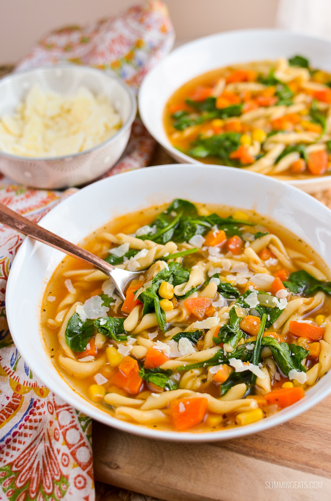Instant Pot Recipes Vegetarian  Syn Free Instant Pot Ve able Noodle Soup