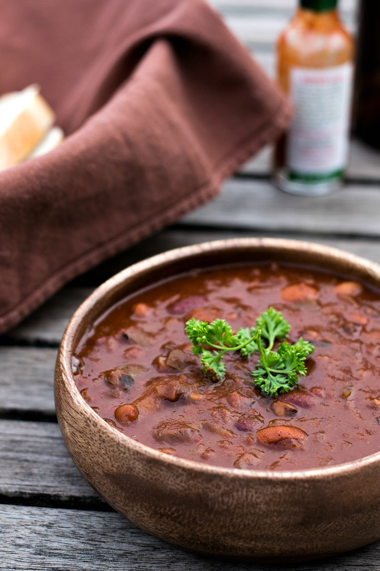 Instant Pot Recipes Vegetarian  Best Damn Instant Pot Vegan Chili Brand New Vegan