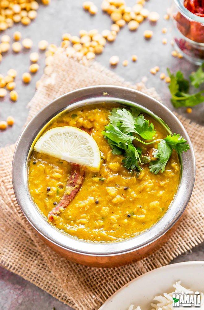 Instant Pot Recipes Vegetarian  Instant Pot Chana Dal Cook With Manali