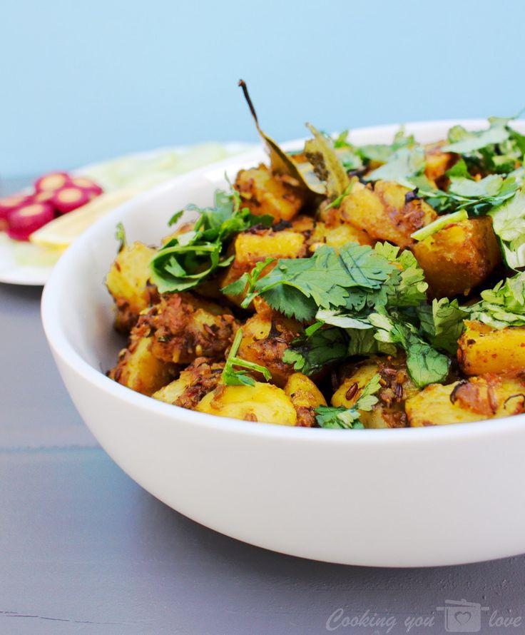 Instant Pot Recipes Vegetarian  Instant Pot Achari Aloo Indian Pickled Potatoes